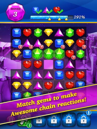 Gem Mania:Diamond Match Puzzle 1.2.3 screenshot 265908
