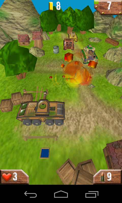 Tanks 3D - screenshot