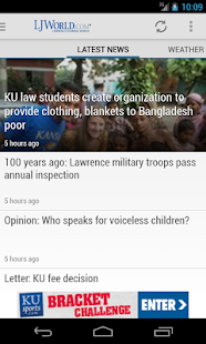 Lawrence Journal-World - screenshot thumbnail