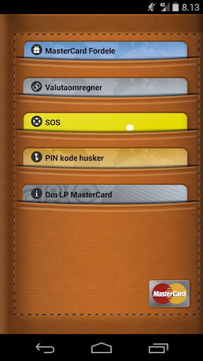 MasterCard Fordele