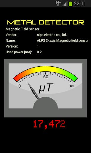Analog Meter Metal Detector