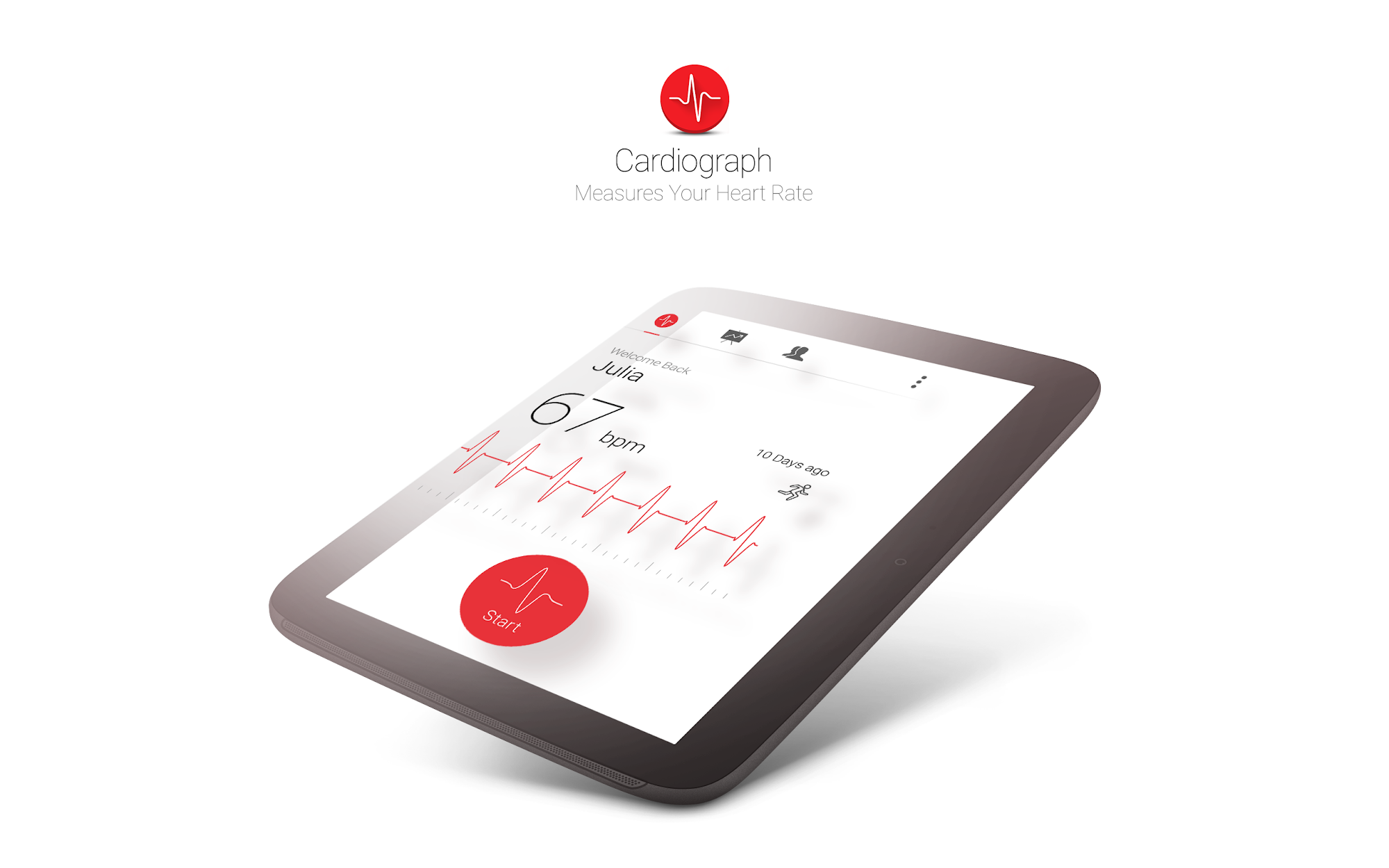 Cardiograph - Heart Rate Meter screenshot #6