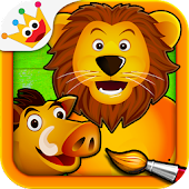 Savanna - Coloring Games Kids