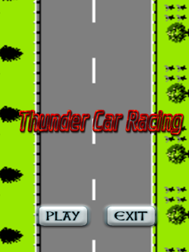 【免費賽車遊戲App】Thunder Car Racing-APP點子