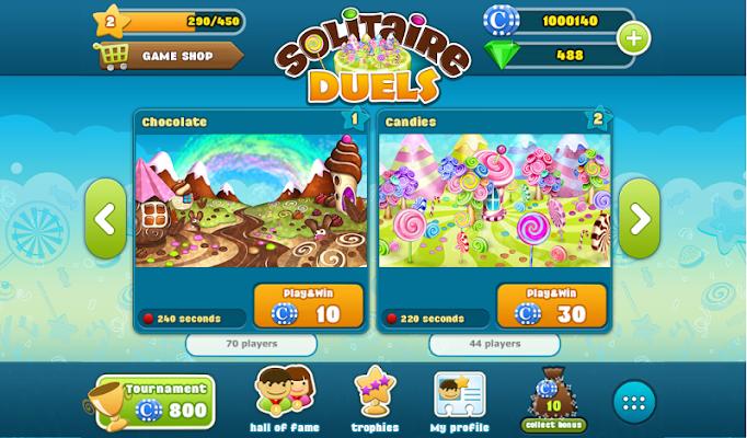 Solitaire Duels - screenshot