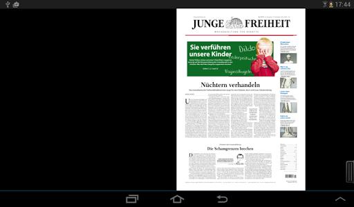 玩新聞App|Junge Freiheit免費|APP試玩