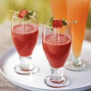 Watermelon and Tequila Frescas