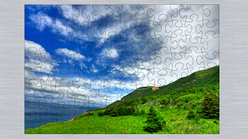 Screenshot of Landscapes Puzzle