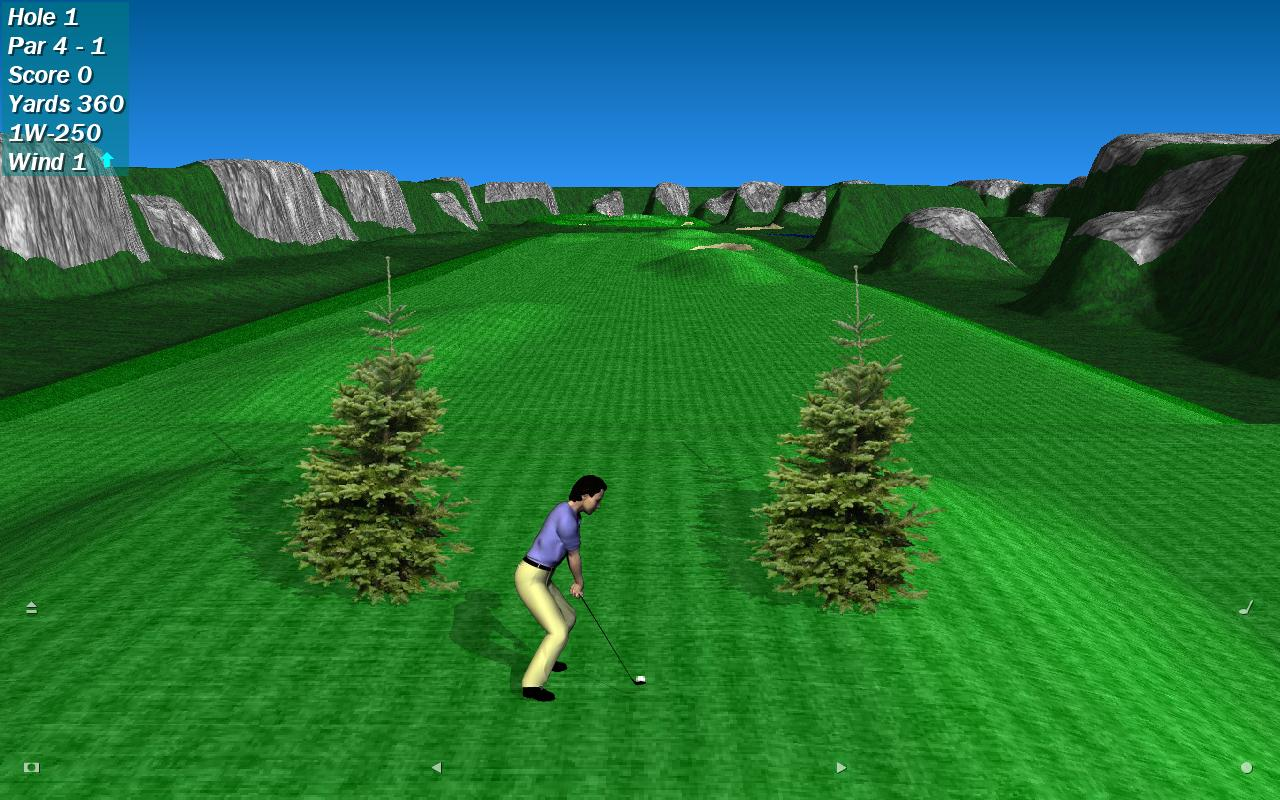 Par 72 Golf HD Lite- screenshot