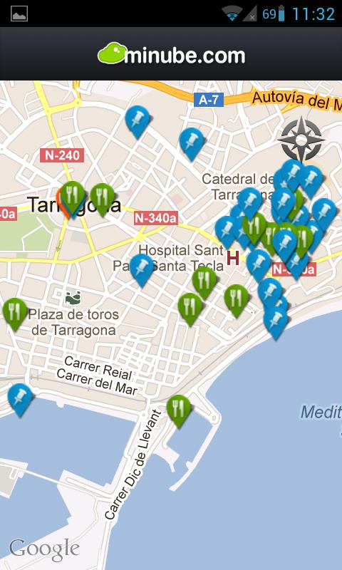 Tarragona Travel Guide- screenshot