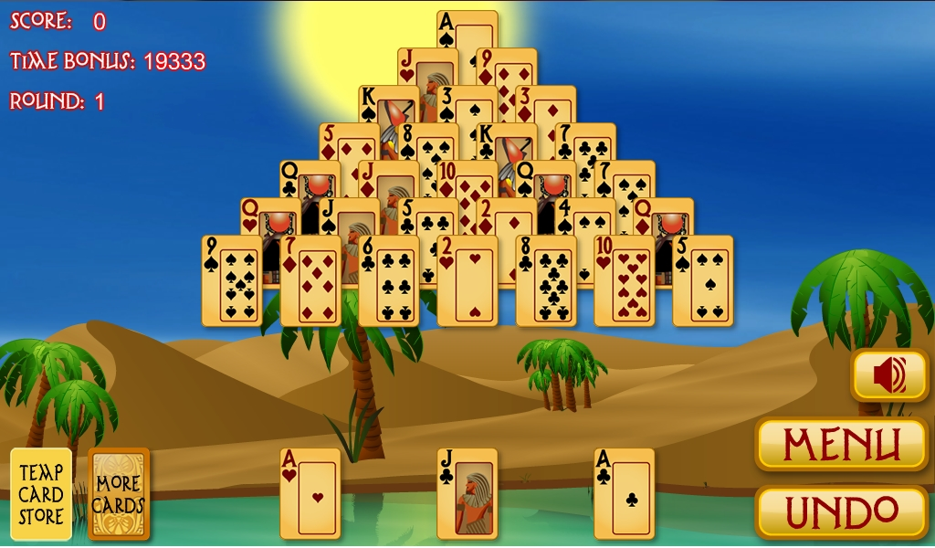 pyramid ancient egypt solitaire