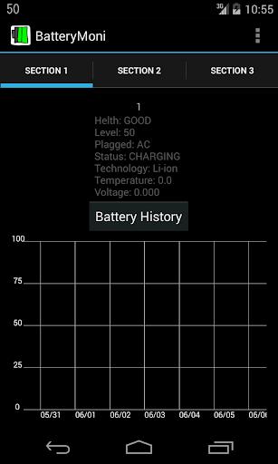 BatteryMoni バッテリーモニタ)