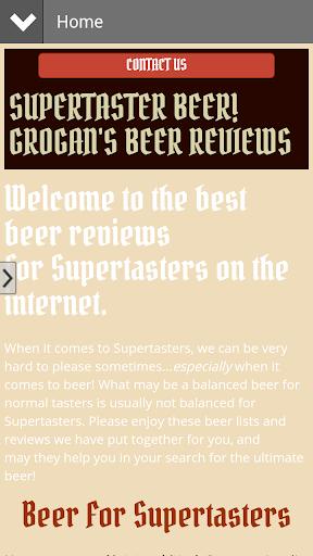 Supertaster Beer