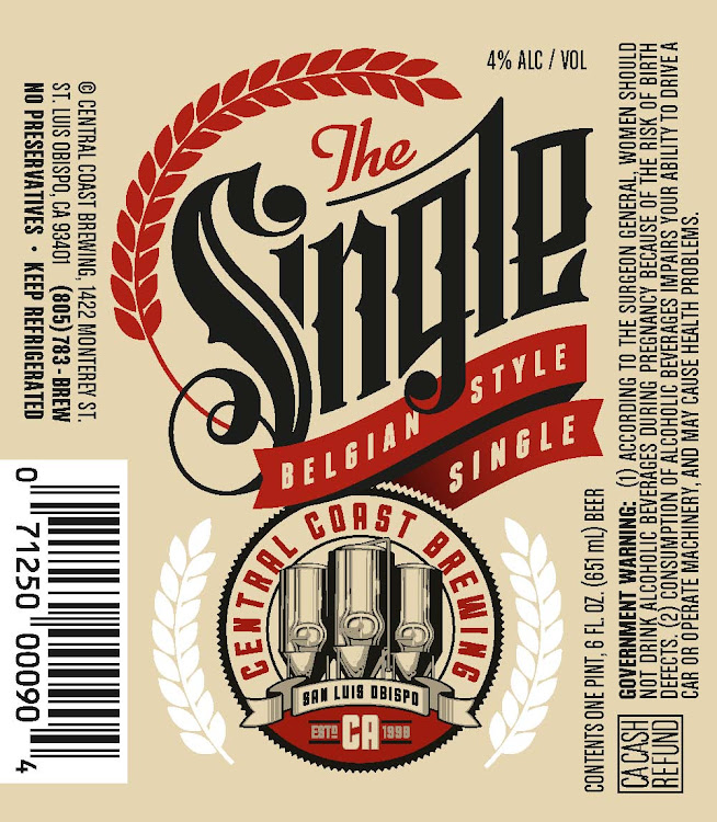 Logo of Central Coast Brewing Single