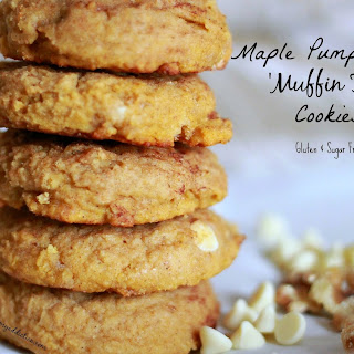 Maple Pumpkin Pie Muffin Top Cookies