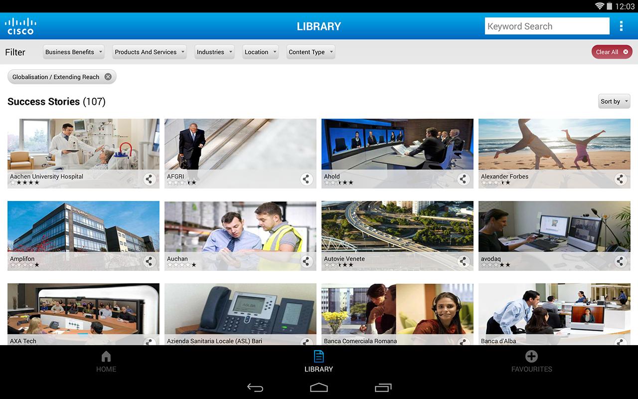 Cisco Customer Success Stories - screenshot