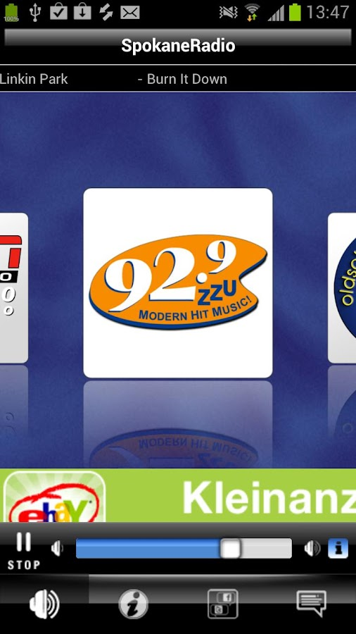Spokane Radio- screenshot