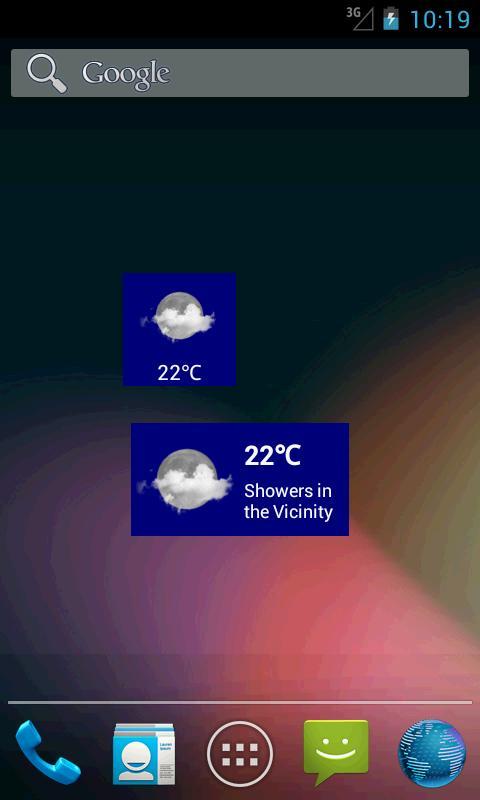 Australia Weather - screenshot