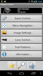 Barco Projector Control- screenshot thumbnail
