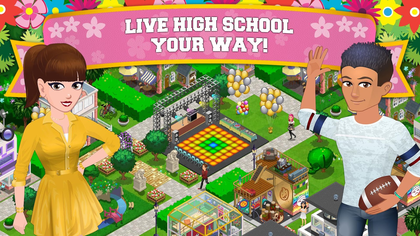 High School Story - screenshot