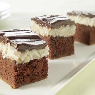 Coconut Candy Bar Cake.