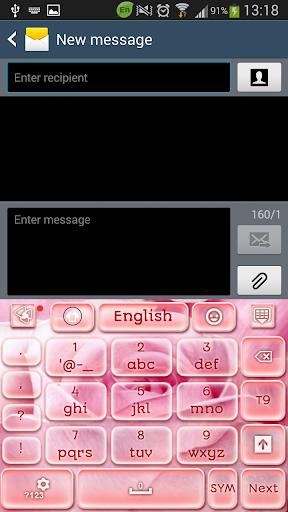 無料娱乐Appのローズピンクのキーボード|記事Game