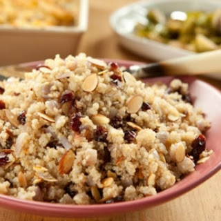 Quinoa Pilaf with Cranberries and Almonds