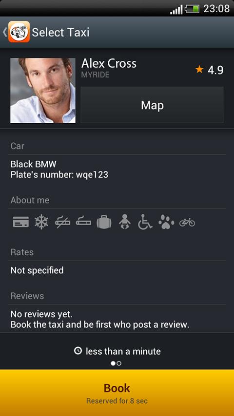Bahrain Taxi Online - screenshot