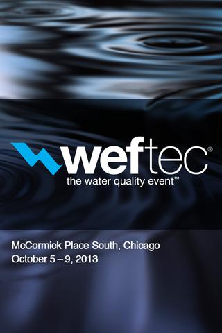 WEFTEC 2013- screenshot