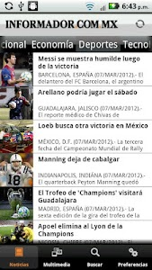 El Informador screenshot 3