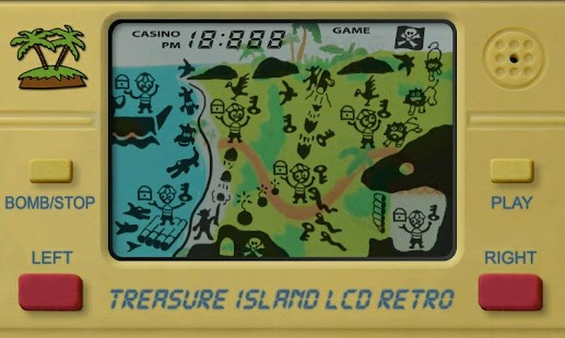 Treasure Island LCD Retro - screenshot thumbnail