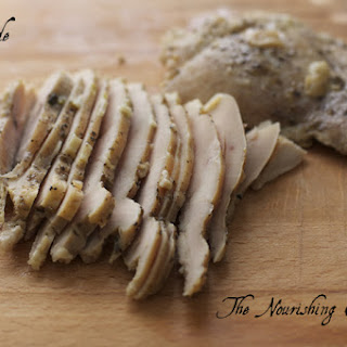 Homemade Chicken Lunch Meat.