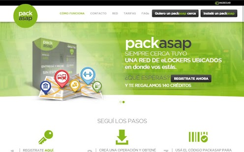Packasap- screenshot thumbnail