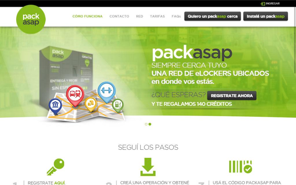 Packasap- screenshot