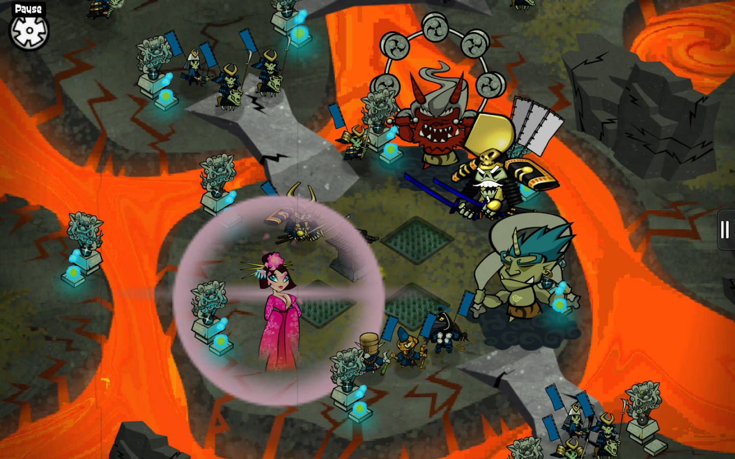 Skulls of the Shogun- screenshot
