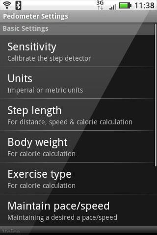 BIDMC WALKING CLUB PEDOMETER - screenshot