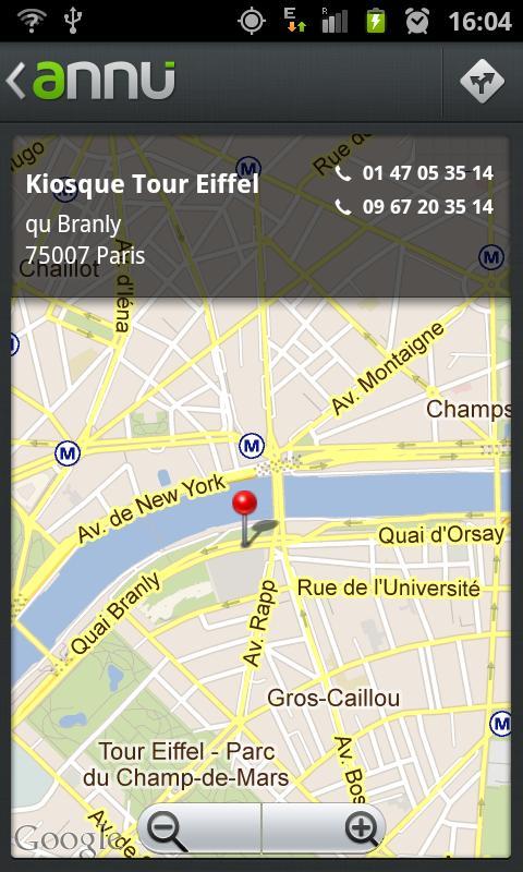 Annu - l'annuaire inversé - screenshot