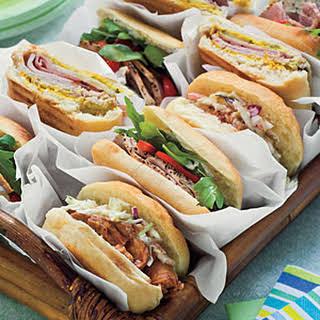 Italian-Style Sandwiches.