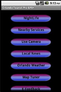 Orlando Holiday Guide GPS screenshot 1