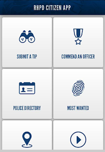 RHPD Citizen App- screenshot thumbnail