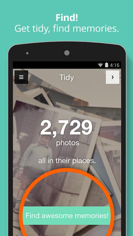 Tidy - Photo Album - screenshot