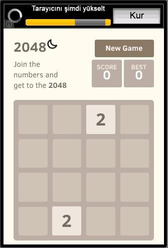 只需2048