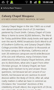 Calvary Chapel Waupaca- screenshot thumbnail