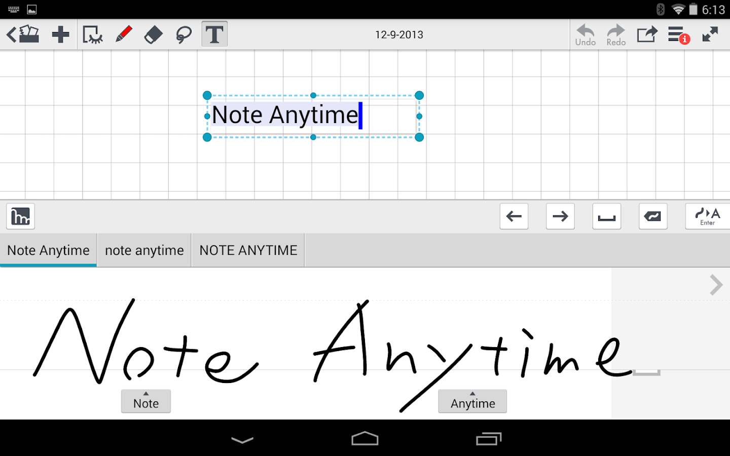 mazec3 Handwriting Recognition - screenshot