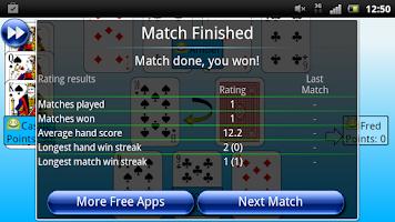 Screenshot of G4A: Crazy Eights