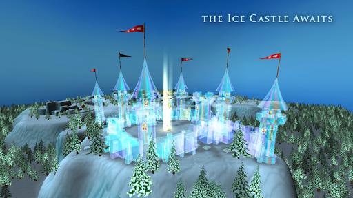Princess Frozen Ice Castle Pro