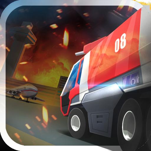 空港消防車シミュレータ 模擬 App LOGO-APP試玩