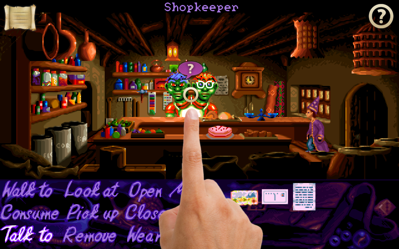 Simon the Sorcerer - screenshot