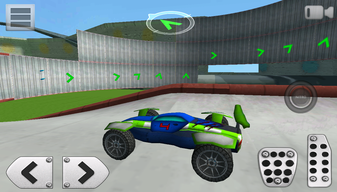 3D Racing : Stunt Arena 4- screenshot