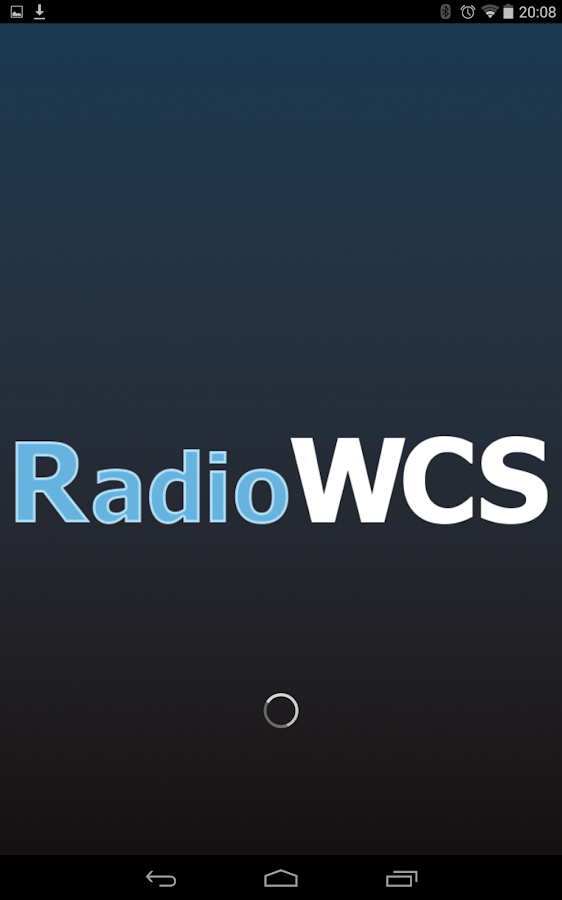 RadioWCS- screenshot